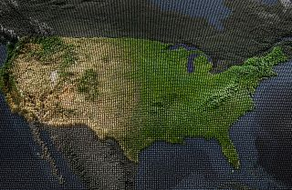 American geography can be found at the root of many elements of the national identity.