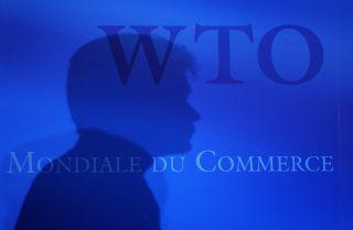 A 2008 file photo taken at the World Trade Organization headquarters in Geneva.