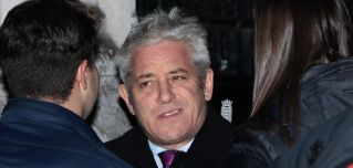 John Bercow, pictured outside Parliament in London on Dec. 12, 2018, is speaker of the House of Commons.