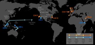 U.S. Naval Update Map: Aug. 17, 2017