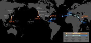 U.S. Naval Update Map: Sept. 21, 2017