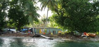 Tuvalu is one among scores of island nations dotting the Pacific Ocean.