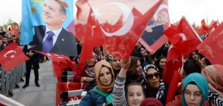 The West's disapproval helped the Turkish president tap a nationalist vein and carry his constitutional victory.