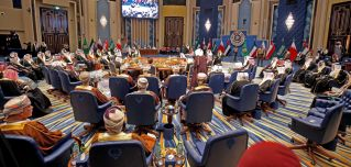 A general view for the GCC leaders meeting in Kuwait City on Dec. 5, 2017. Things have been tense in the bloc since Saudi Arabia and some GCC peers' started a campaign to isolate Qatar over differences in regional policies. Of course, the GCC has been beset by internal squabbles among its six members -- Bahrain, Kuwait, Oman, Qatar, Saudi Arabia and the United Arab Emirates -- since its inception.