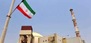The reactor building at the Bushehr nuclear power plant in southern Iran.