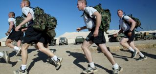 Declining fitness levels not only affect military recruiting, but they also contribute to injuries among service personnel during training.