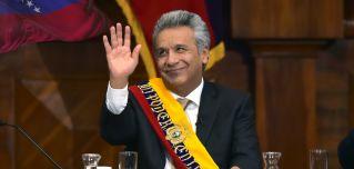 Ecuadorian President Lenin Moreno was vice president under Rafael Correa from 2007 to 2013.