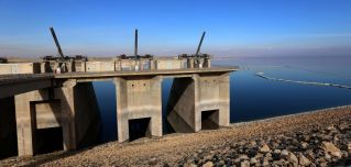 The Mosul Dam, Iraq's largest, provides water and electricity to millions of Iraqis.