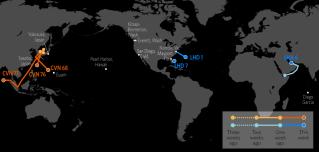 U.S. Naval Update Map: Nov. 23, 2017
