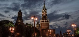 The Kremlin in Moscow, in a photo taken on June 8, 2017.