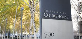 The U.S. District Court of the Western District of Washington is pictured in Seattle on Nov. 8, 2019.