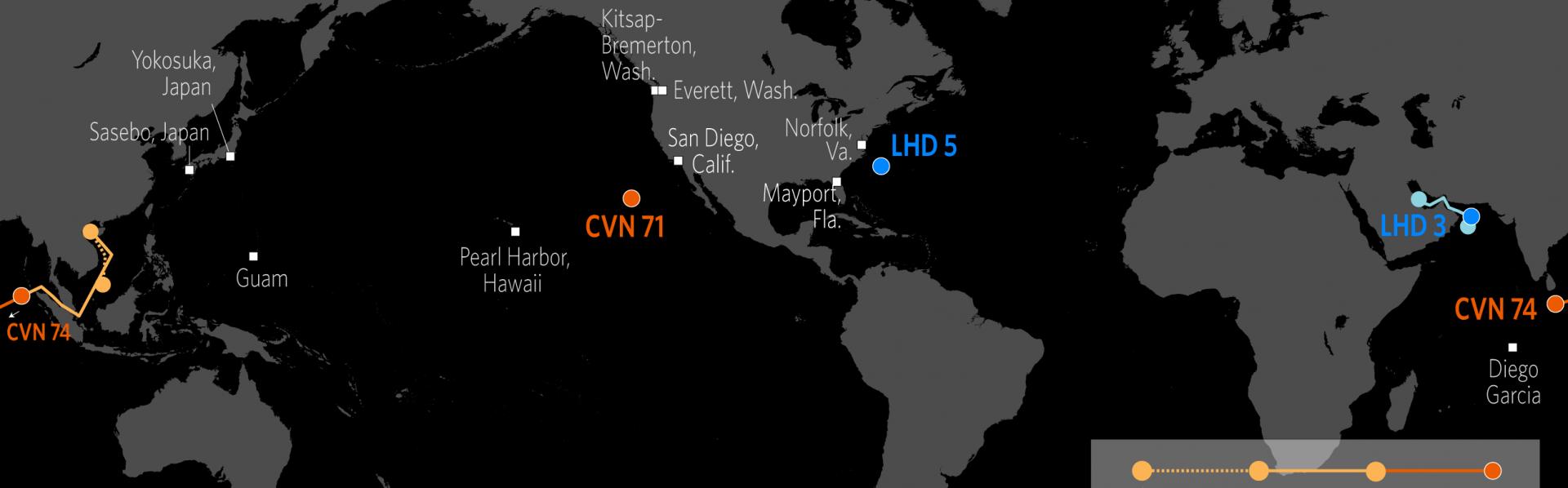 Tracking U.S. Naval Power   Stratfor Worldview