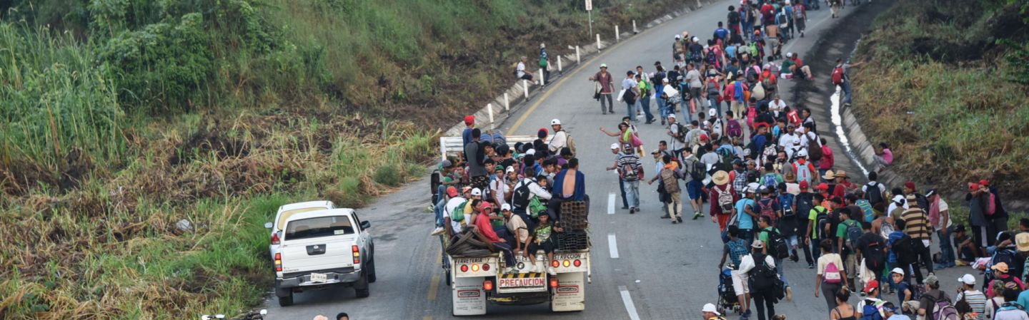 Image result for central american migrants