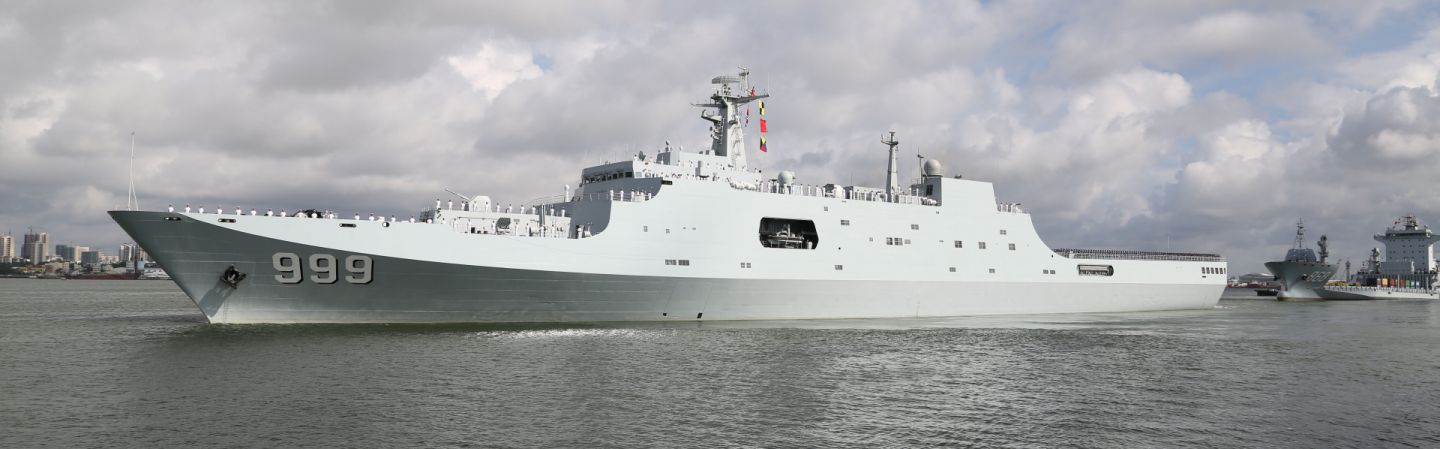 China May Set Its Navy on a Course for the Persian Gulf