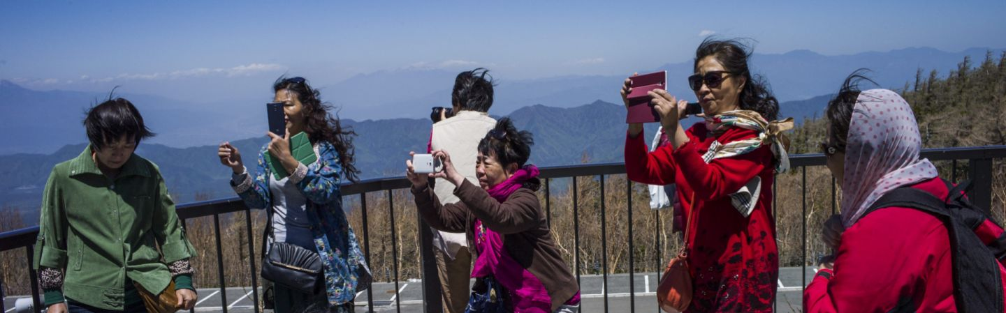 Chinas Unlikely Weapon Tourists