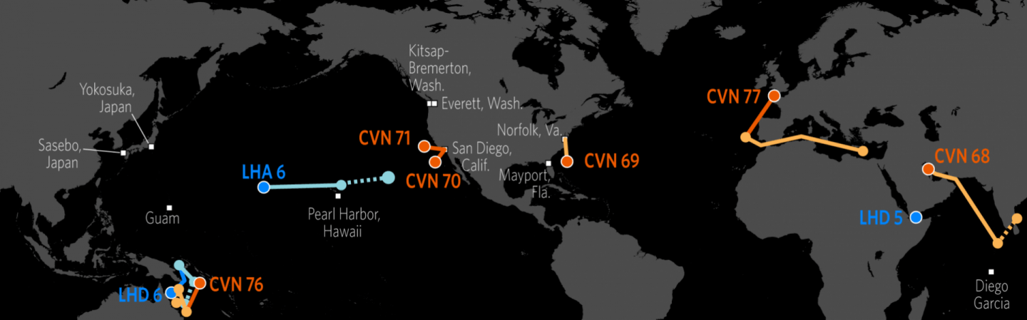 us naval update map aug 3 2017