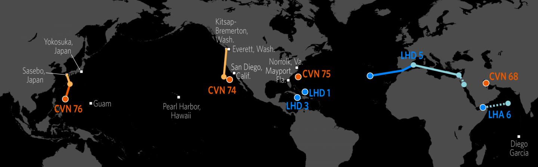 Naval Update Map Sept 21 2017