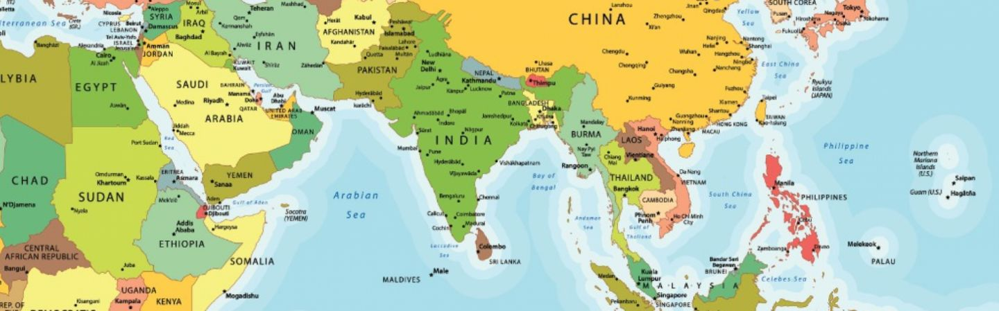 India And The Us Find Common Ground In The Indo Pacific - Pacific-ocean-us-map