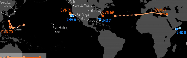 US Naval Update Map Feb 16 2017