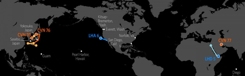 Naval Update Map June 1 2017