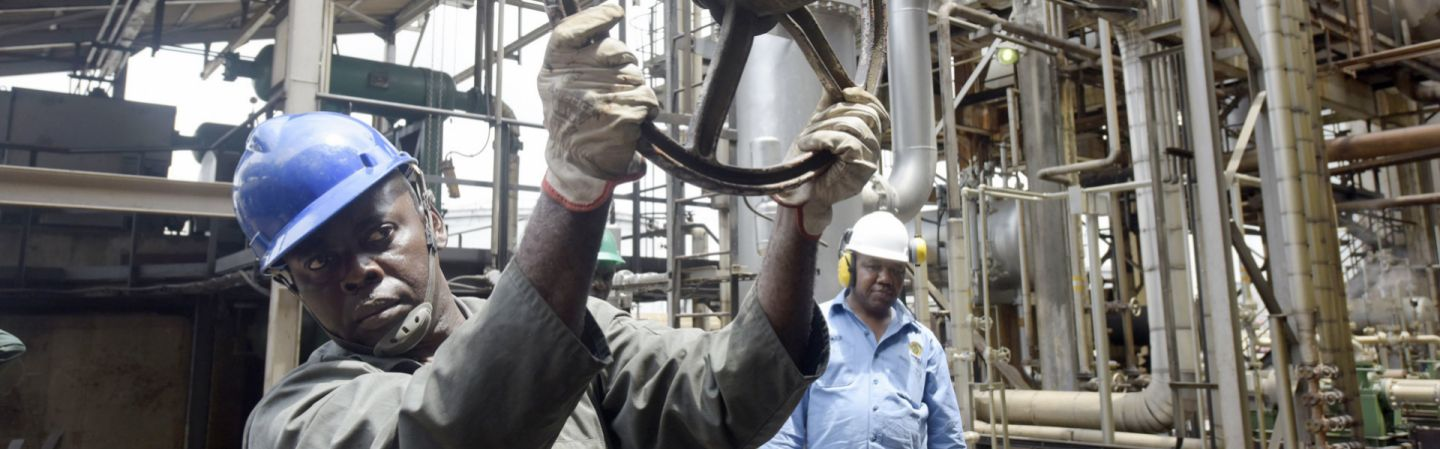 the nigeria oil industry essay Economic growth nigeria 2 the second decade of independence saw the emergence of the oil industry as the can the nigerian economy move from the.
