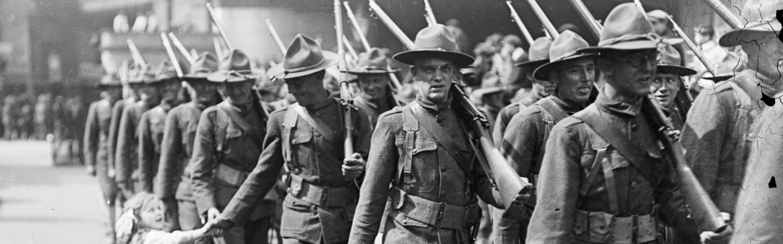 America enters World War I