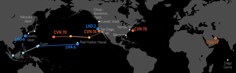 Naval Update Map Jan 25 2018