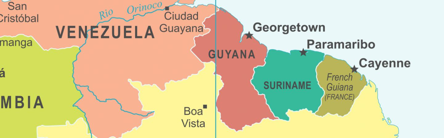 Where Is Guyana Located On The World Map.Guyana S Jungle Is Brazil S Agricultural Frontier