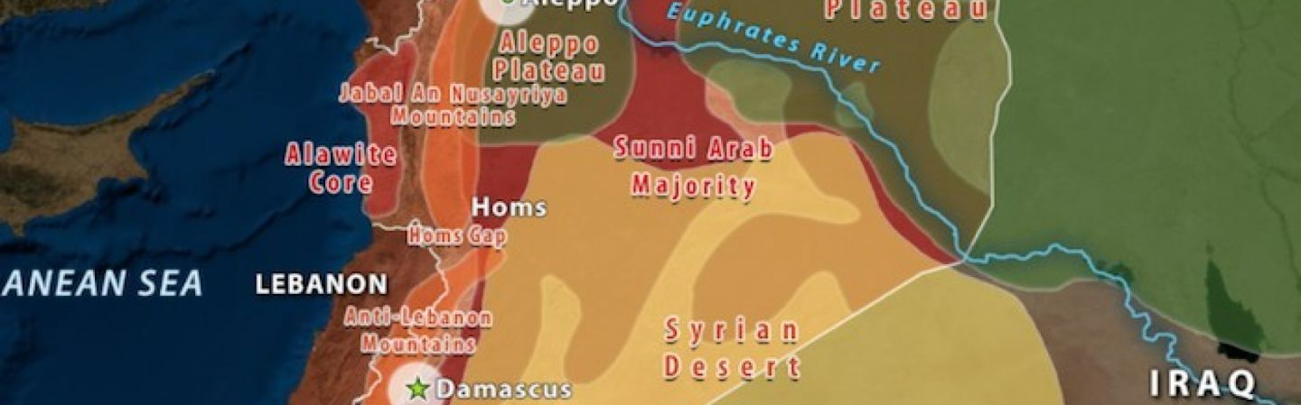 Syria\'s Geographic Challenge