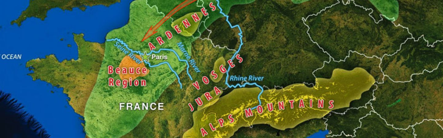 Mountains Of France Map.France S Geographic Challenge