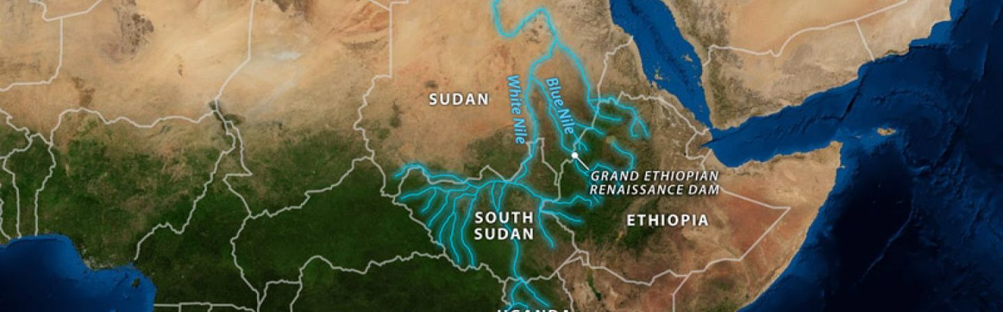 The Geopolitical Impact Of The Nile - Nile river location on world map