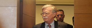 Former U.S. national security adviser John Bolton.