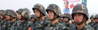 Chinese Peoples Liberation Army solders will take on a greater global role