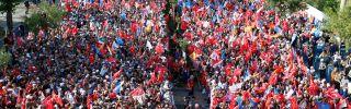 Political Rally in Turkey