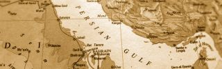 A map of the Persian Gulf region.