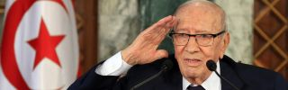 This photo shows Tunisian President Beji Caid Essebsi, who died July 25 at age 92.