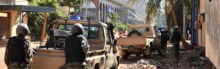 Al-Mourabitoun and al Qaeda in the Islamic Maghreb Attacked the Radisson Blu Hotel in Bamako, Mali.