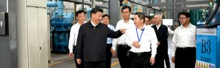 Chinese President Xi Jinping's visit to a rare earth element production factory in Jiangxi province on May 20 raised speculation that Beijing may be considering taking action on exports of the materials.