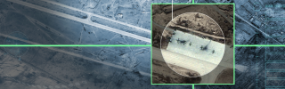 Satellite imagery shows the damage inflicted to a Syrian airbase