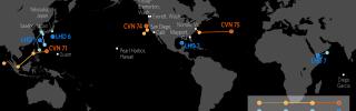 U.S. Naval Update Map: April 19, 2018
