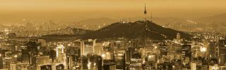 As dusk falls over Seoul, South Korea's bustling capital, the city's skyline comes to life.