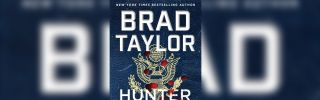 """The cover of the book """"Hunter Killer"""" by author Brad Taylor."""