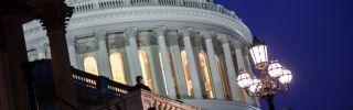 The U.S. Capitol.