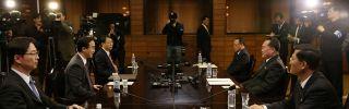 Talks prior to the inter-Korean summit