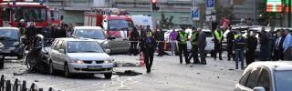 Police in Kiev investigate a car blast that killed Timur Mahauri, a Chechen with Georgian citizenship.