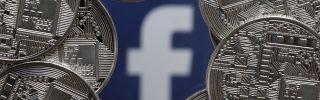 A visual representation of Facebook's cryptocurrency, Libra.