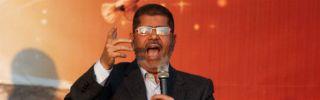 Egyptian President Mohammed Morsi in Cairo on Nov. 23