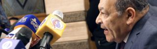 Egyptian Supreme Constitutional Court deputy head Maher Samy during a news conference on Nov. 28