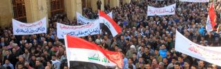 Iraq's Shia Try to Quiet Sunni Unrest