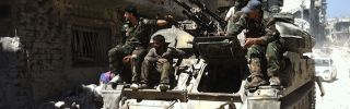 Syrian Civil War Update: Rebels Rely on Regime Weapons